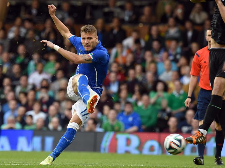 Ciro Immobile: Has been criticised in Italy