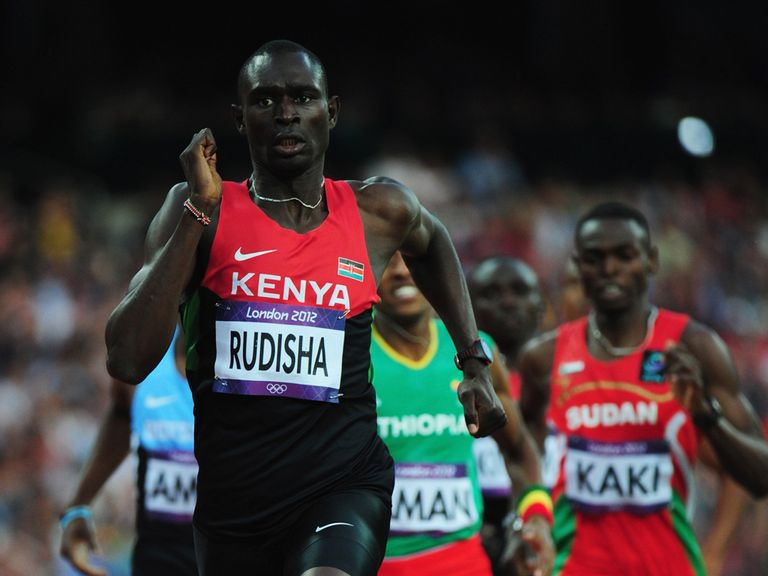 David Rudisha: Aiming for 800m and 4x400m relay gold