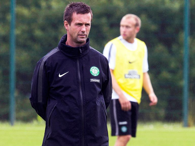 Ronny Deila: Delighted with the pitch at Murrayfield