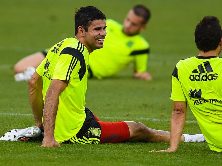 Diego Costa: Expected to keep his discipline in Brazil