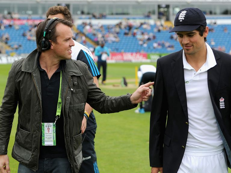 Swann interviews Cook these days rather than play for him