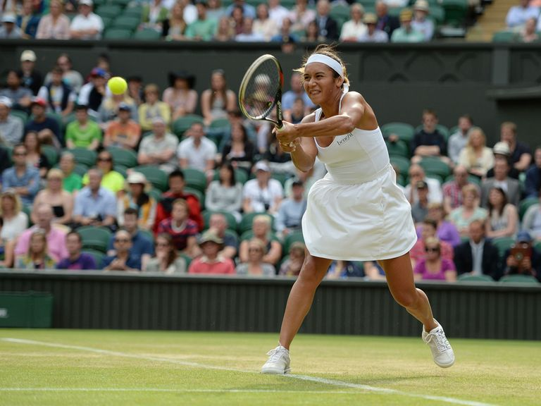 Heather Watson: Defeated in three sets