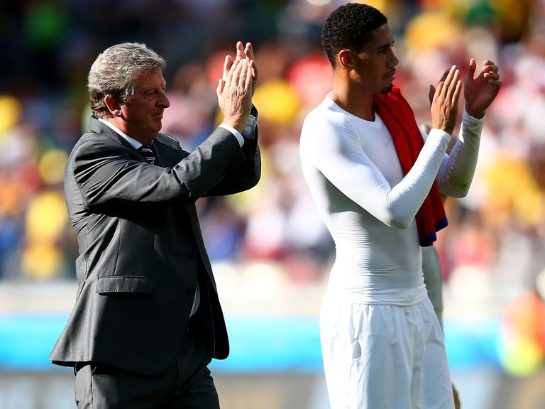 Roy Hodgson (left): Happy to continue as manager