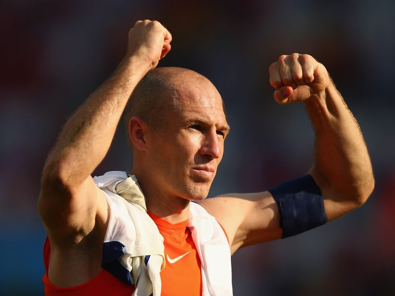 Arjen Robben can help the Dutch defeat Mexico