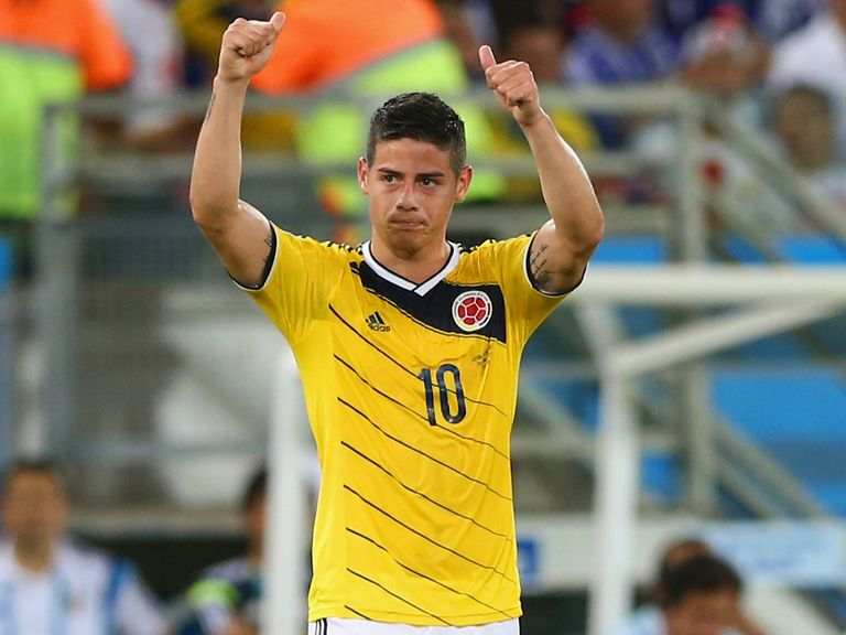 James Rodriguez: Living his World Cup dream