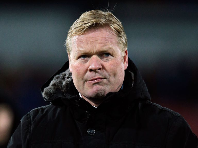 Ronald Koeman: Set to be named manager at Southampton