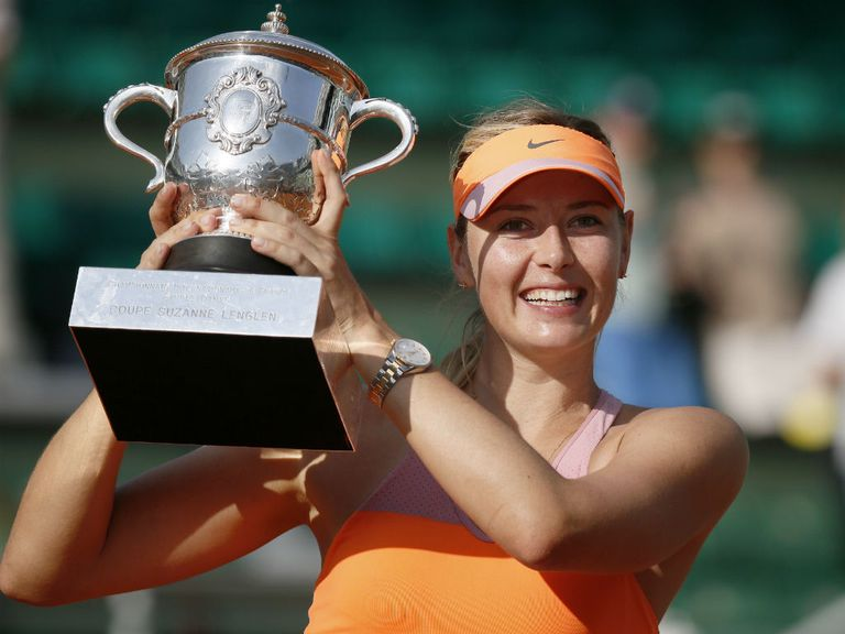 Maria Sharapova: Claimed her second title in Paris