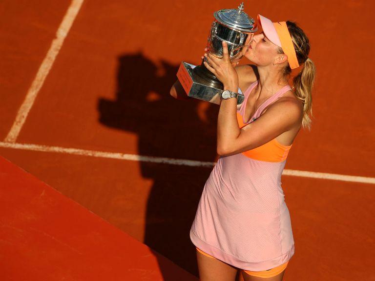 Maria Sharapova: Could face Serena Williams in the last eight