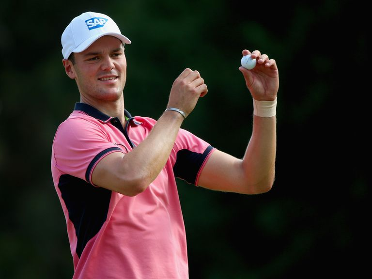 Martin Kaymer: Leads the way at the US Open