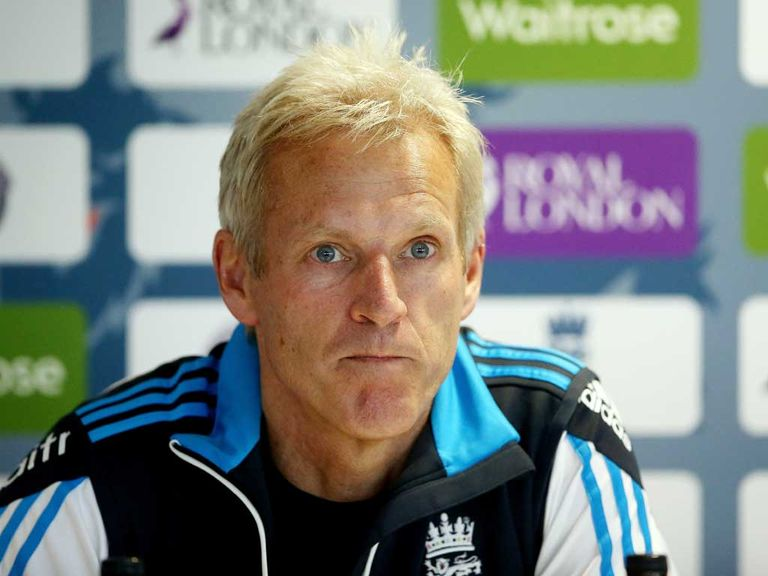 Peter Moores: Wants English spinners to throw down the gauntlet