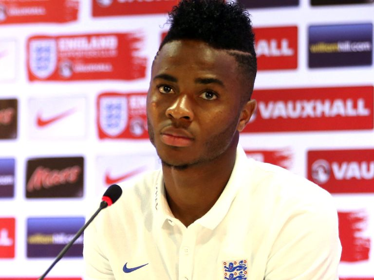 Raheem Sterling: Hopes to learn from the experience