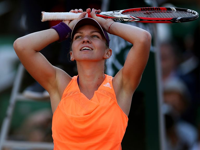 Simona Halep: Prepares for French Open final