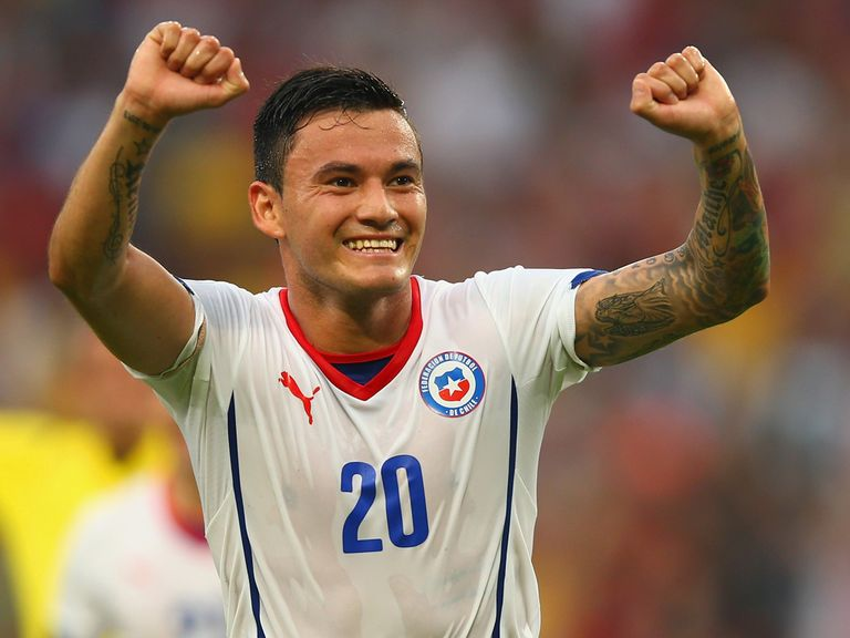Chile are in the last 16 of the World Cup