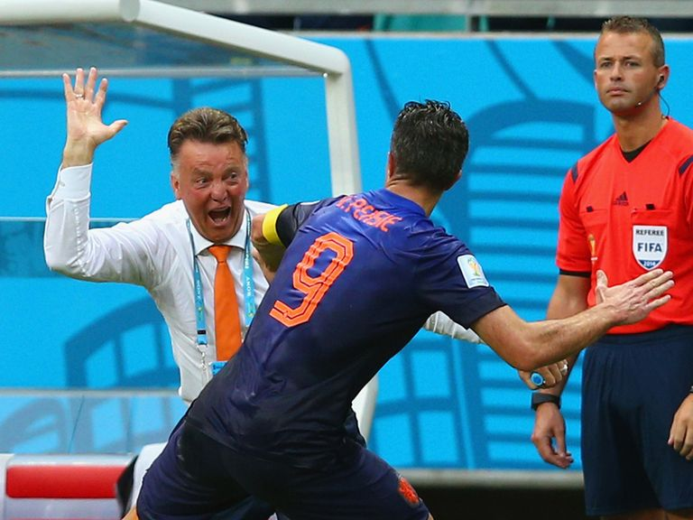 Louis van Gaal and Robin van Persie will link up at Manchester United