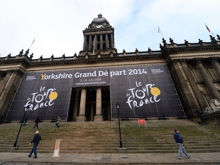 Riders will begin their Tour de France journey in Leeds City Centre for the Grand Depart