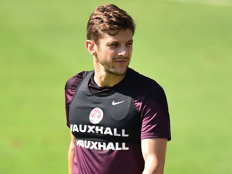 England midfielder Adam Lallana is hoping to get in the starting XI against Italy