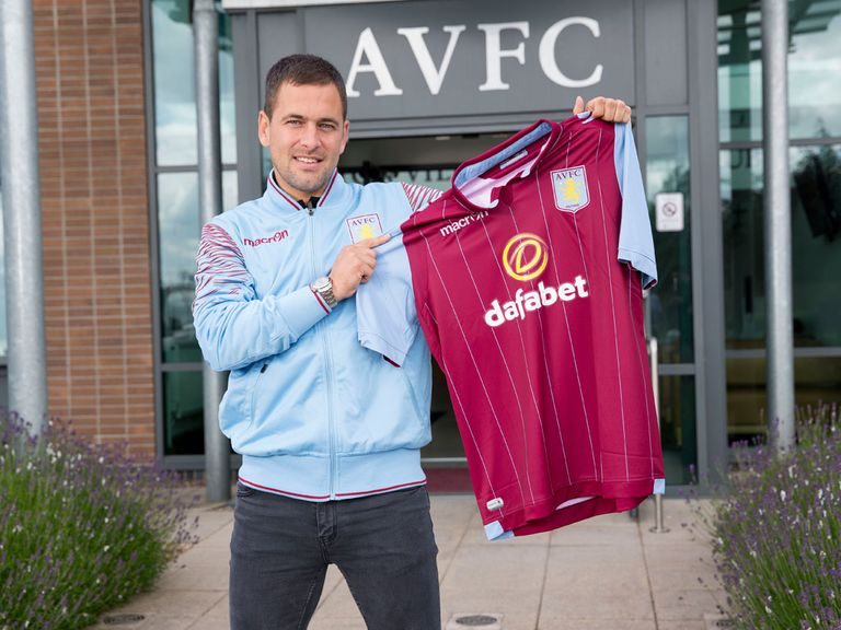 Joe Cole: Signed two-year Aston Villa deal