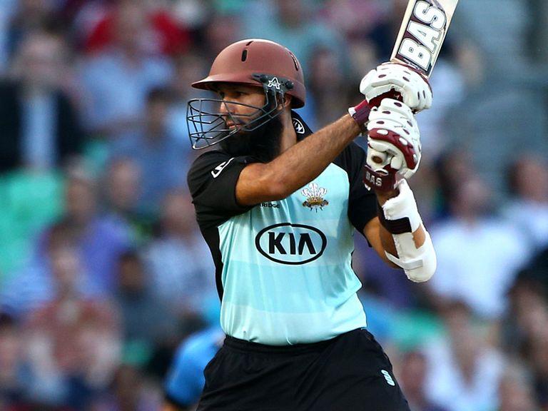 Hashim Amla: Helped Surrey claim victory