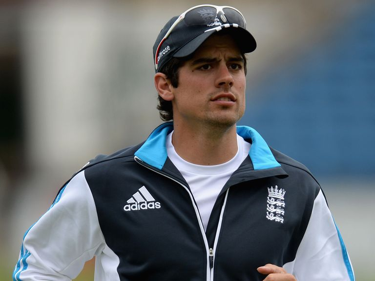 Cook: Hit back at the critics of his captaincy