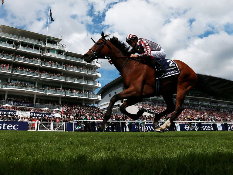 Cirrus Des Aigles scores at Epsom