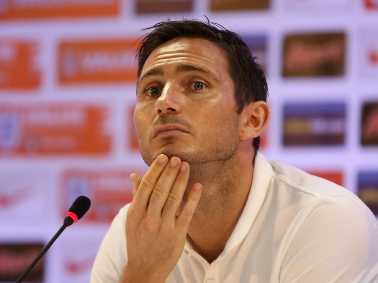 Frank Lampard: Captains England against Costa Rica