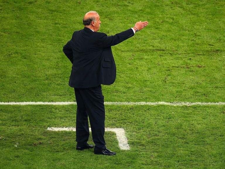 Vicente del Bosque: Has seen his Spain side lose twice