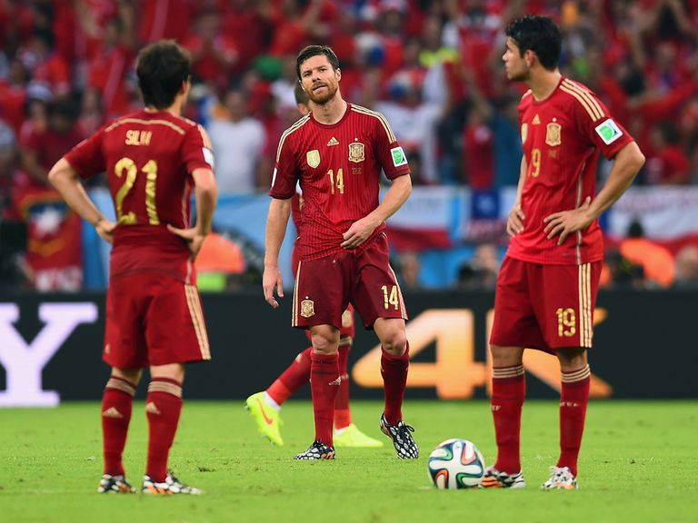 Spain crashed out of the World Cup in the group stages
