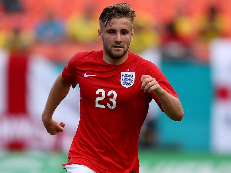 Luke Shaw: Started for England in their final World Cup game