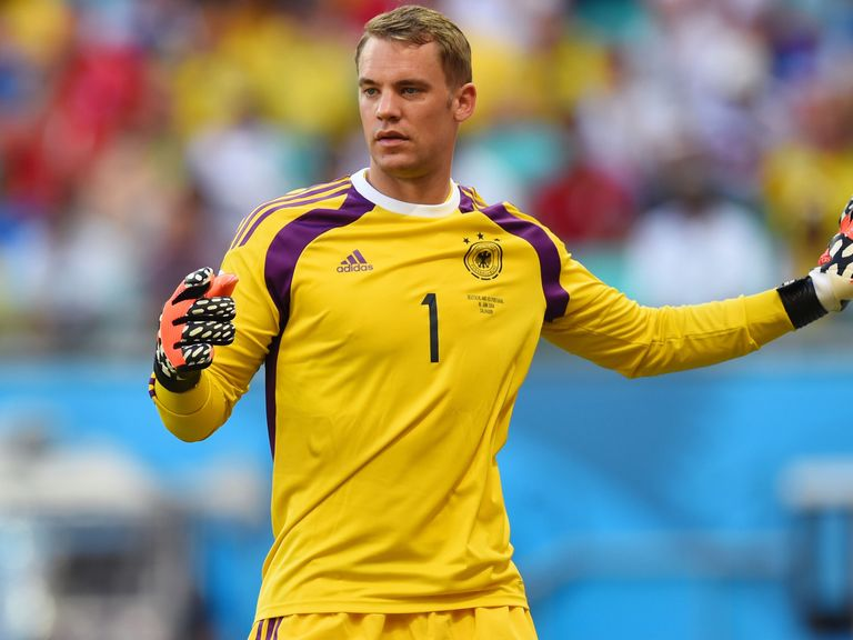 Manuel Neuer: His ball skills has been praised