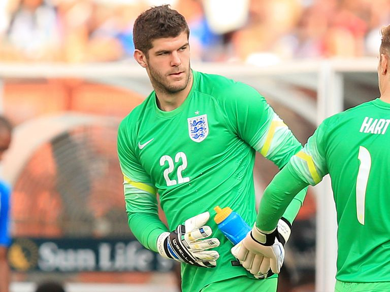 Fraser Forster: Gained valuable experience at the World Cup
