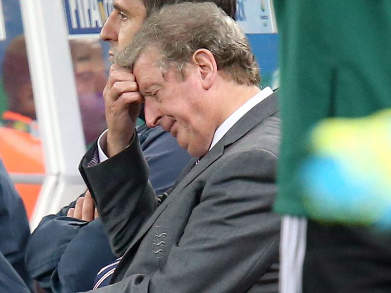 England manager Roy Hodgson has plenty to think about