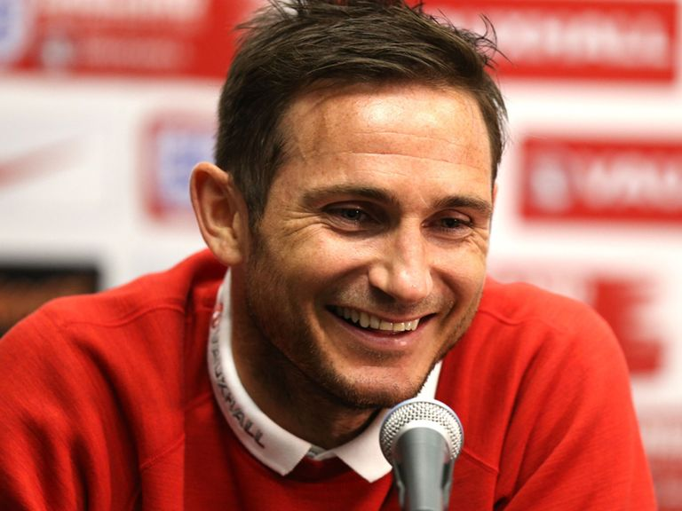 Frank Lampard: Will captain England