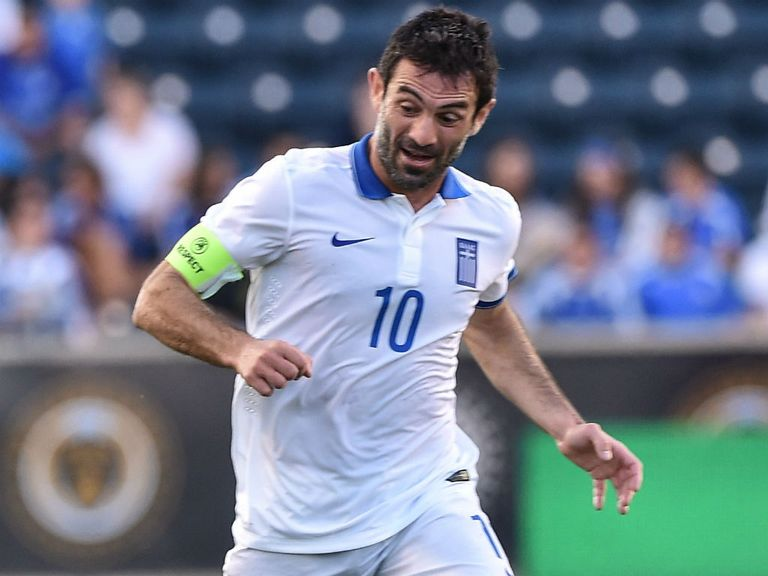 Giorgos Karagounis: Played his last game for Greece.