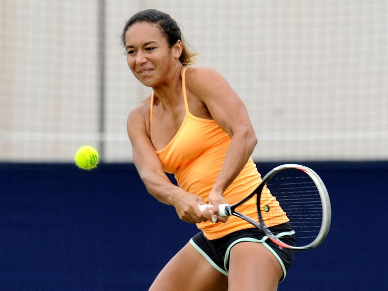 Heather Watson: Through to the semi-finals