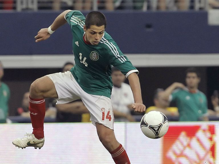 Javier Hernandez: Not taking his place in the Mexico side for granted
