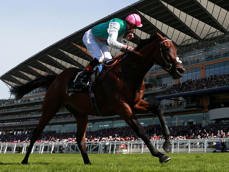 Kingman's victory confirmed a good day for punters at Royal Ascot
