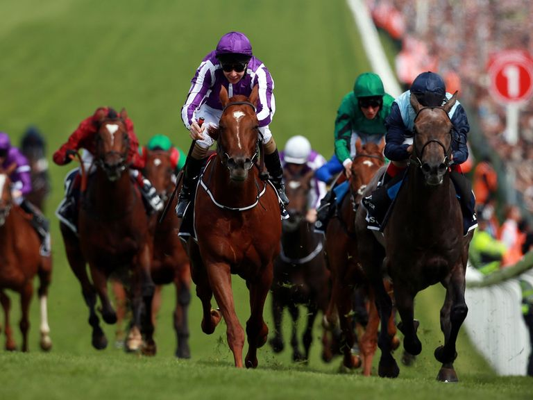 Australia proved his stamina with a stunning Derby victory under Joseph O'Brien
