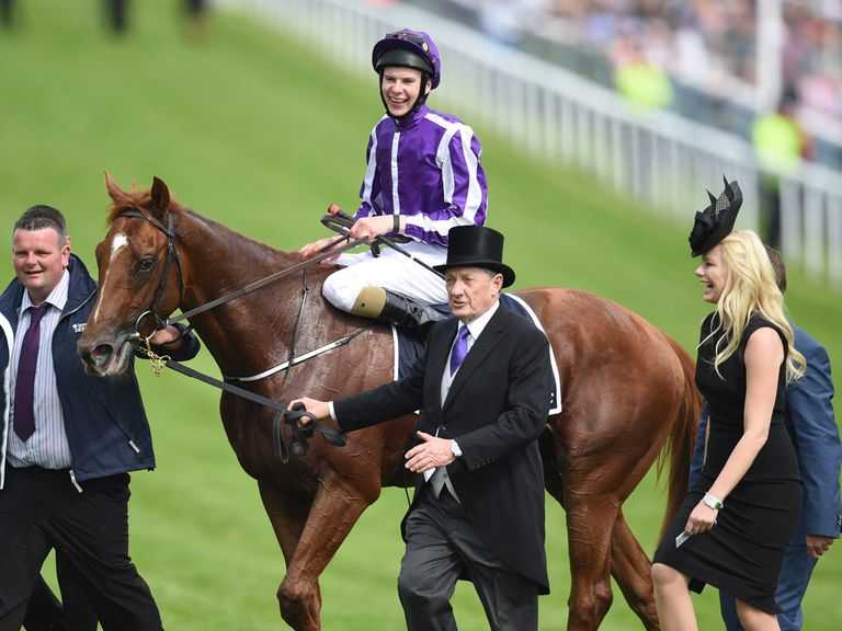 No wonder Joseph O'Brien is all smiles