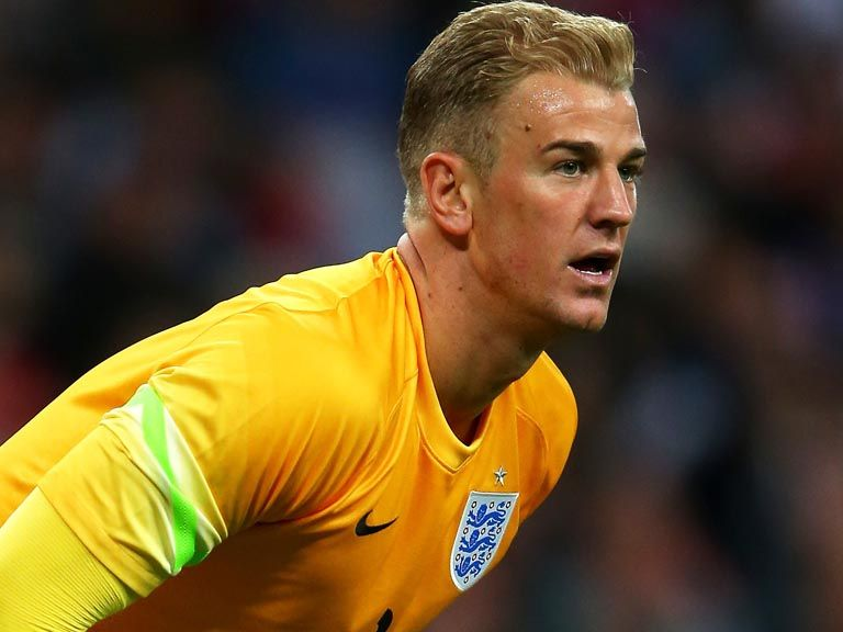 Joe Hart: Ready to face Suarez and Uruguay