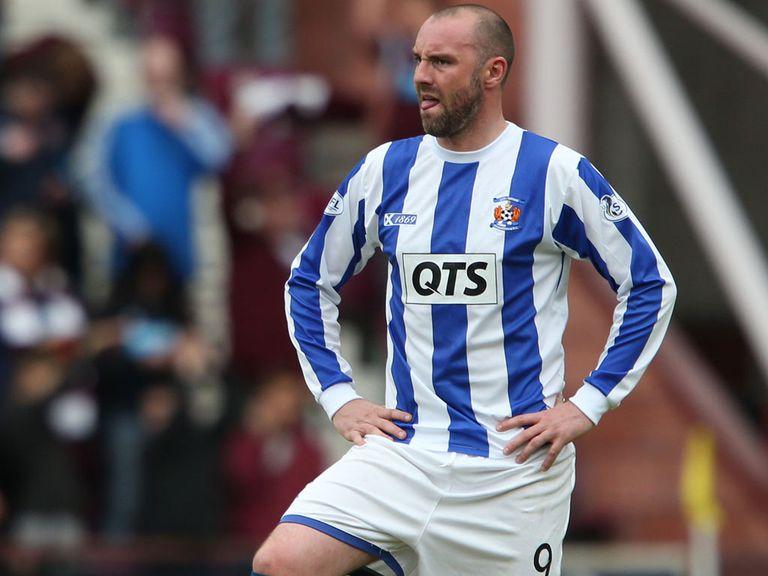 Kris Boyd in Kilmarnock colours