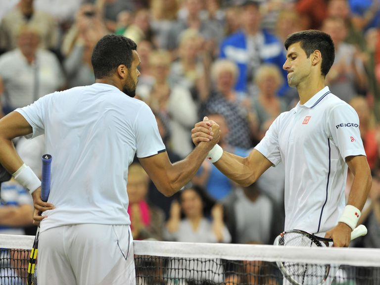 Novak Djokovic powered past Jo-Wilfried Tsonga in straight sets