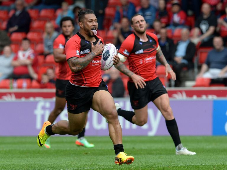 Salford Red Devils: Can get the better of Wakefield