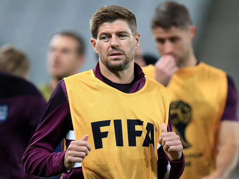 Steven Gerrard: Ready for vital clash with Uruguay