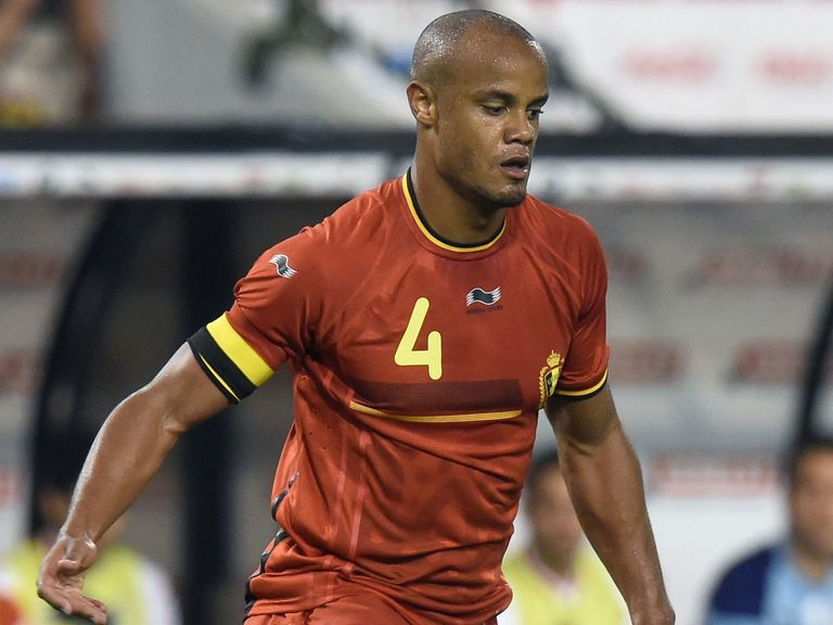 Vincent Kompany: Has shrugged off a groin injury