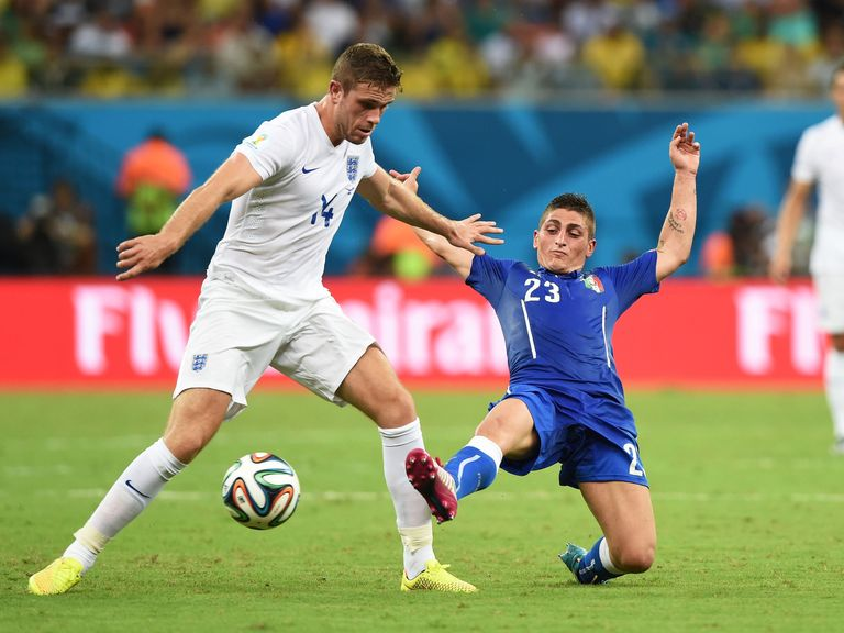 Jordan Henderson: Positive despite defeat to Italy