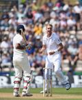 Stuart Broad took three wickets at the Rose Bowl