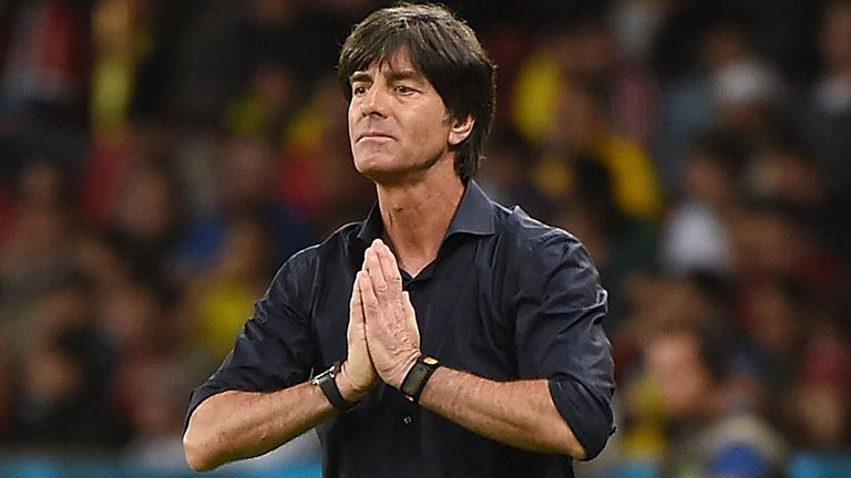 Joachim Low: Applauds his team after win over France
