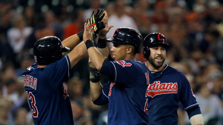 Cleveland Indians won Saturday's double-header against Detroit Tigers