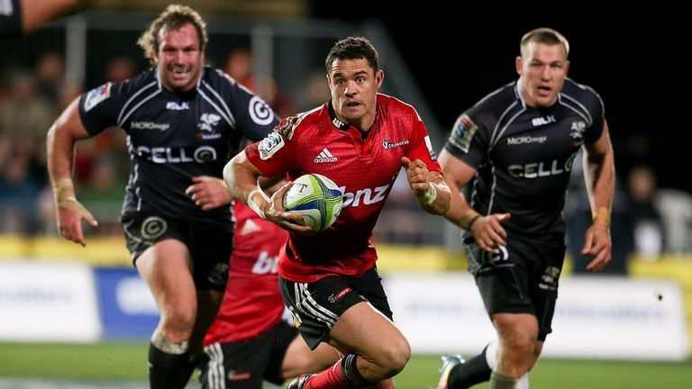 Carter: Key figure for Crusaders in their semi-final win