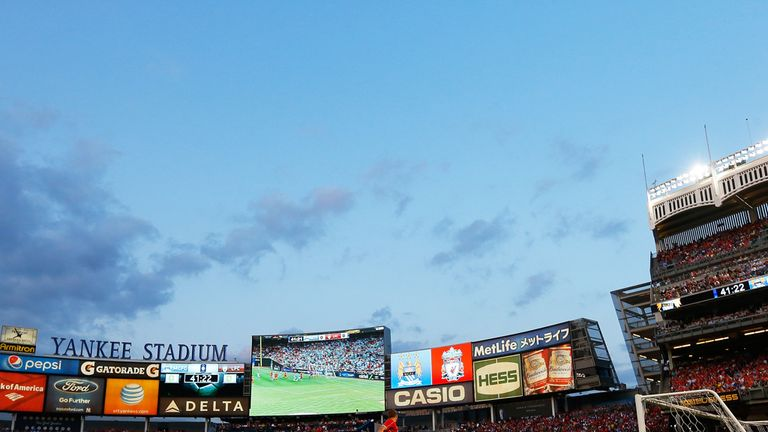Yankee Stadium is the home of New York City FC